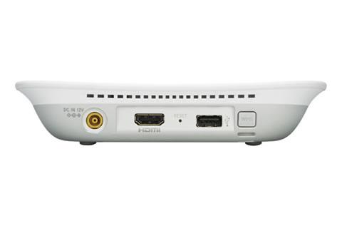 LLS-201右側面 電源・HDMI・USB・Wi-Fiボタン