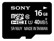 microSDHC UHS-I メモリーカード(Class10) SR-16UYA