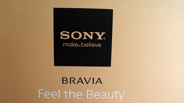 2013年春モデルの4K対応BRAVIAの店頭展示について