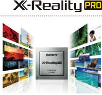 繊細な質感までくっきりと描く超解像エンジン「X-Reality PRO」