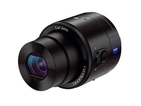 高画質モデルの「DSC-QX100」
