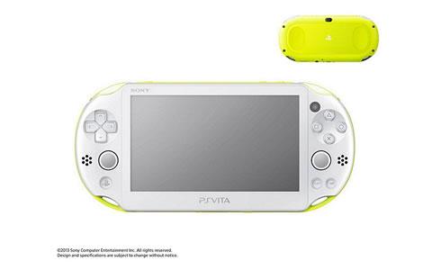 PlayStation(R) Vita Wi-Fiモデル ライムグリーン/ホワイト PCH-2000 ZA13