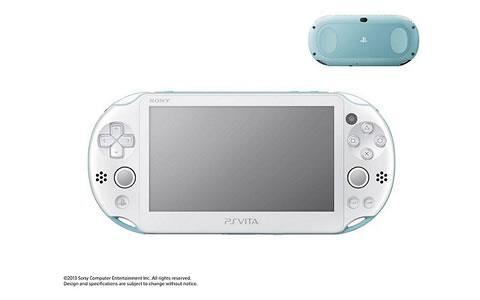 PlayStation(R) Vita Wi-Fiモデル ライトブルー/ホワイト PCH-2000 ZA14