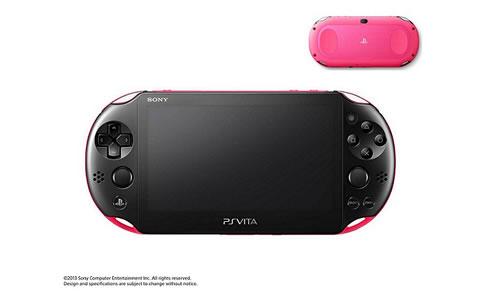 PlayStation(R) Vita Wi-Fiモデル ピンク/ブラック PCH-2000 ZA15