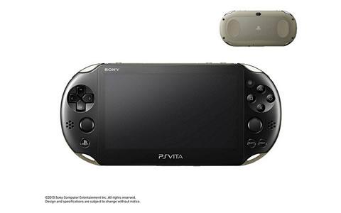 PlayStation(R) Vita Wi-Fiモデル カーキ/ブラック PCH-2000 ZA16