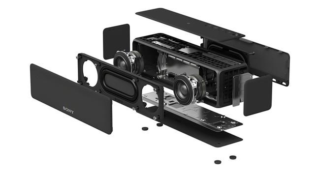 ハイレゾ対応35mmフルレンジスピーカーユニットを搭載