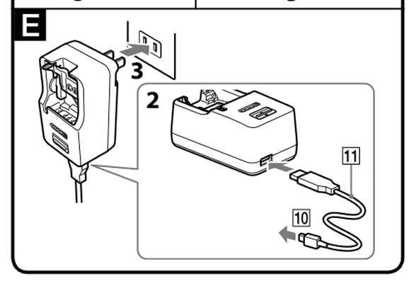バッテリーチャージャー(BC-TRX)USB出力