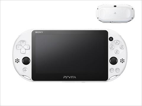 PlayStation®Vita Wi-Fiモデル グレイシャー・ホワイト