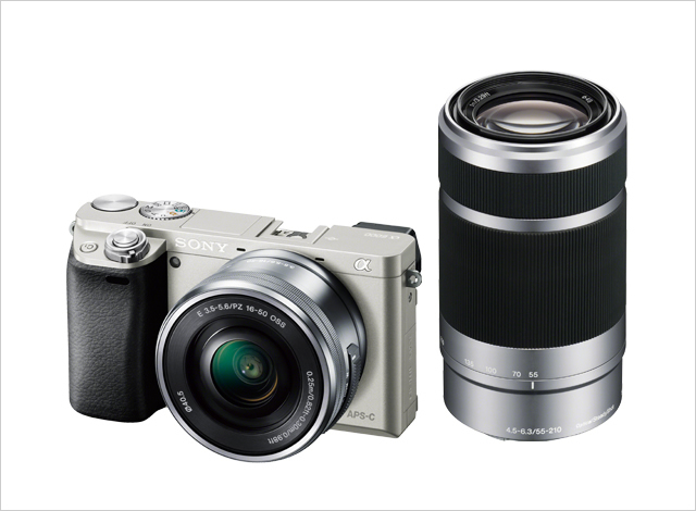 デジタル一眼カメラ α6000 ダブルズームレンズキット ILCE-6000Y