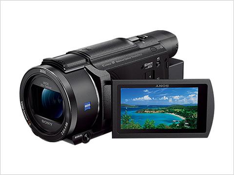 デジタル4Kビデオカメラレコーダー FDR-AX60 2018年2月9日発売予定
