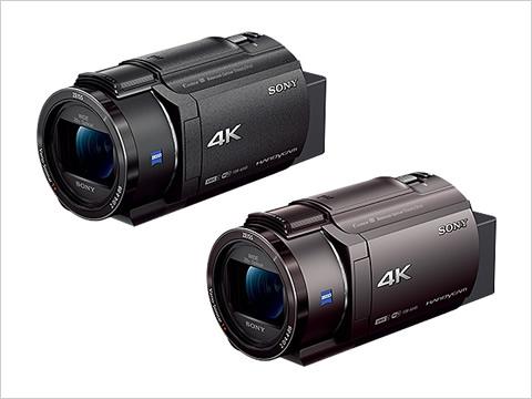 デジタル4Kビデオカメラレコーダー FDR-AX45 2018年2月9日発売予定