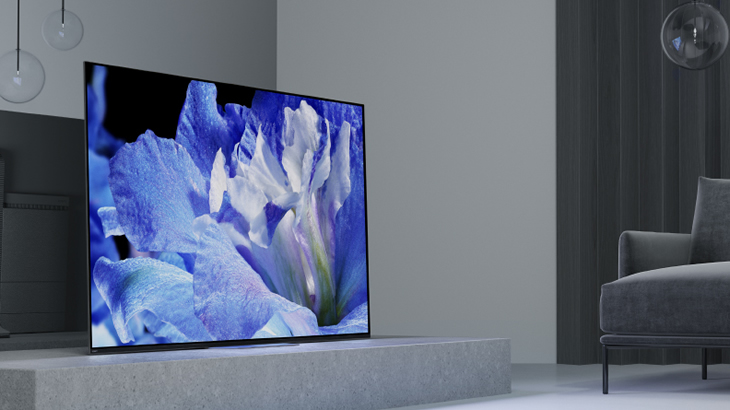 深い黒の表現力と圧倒的なコントラスト 有機ELテレビ A8Fシリーズ