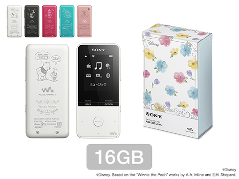 ウォークマンSシリーズ Disney Characters Floral Collection(16GB)