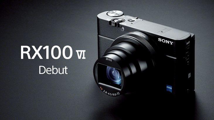 デジタル一眼カメラを超えるサイバーショット「DSC-RX100M6」6月12日10時より予約開始!