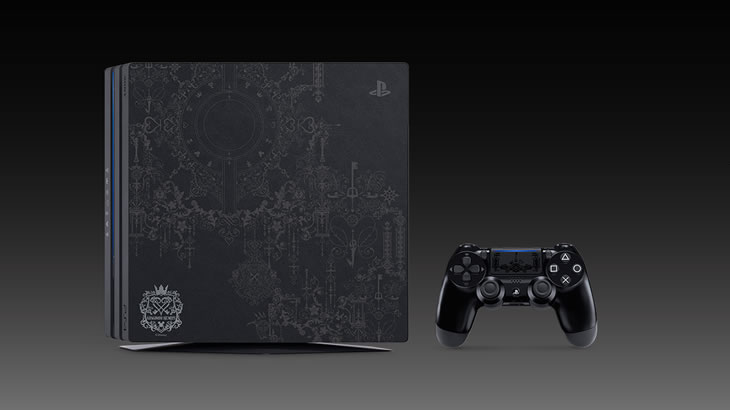 PlayStation(R)4 Pro「KINGDOM HEARTS III LIMITED EDITION」予約開始!…が1日も持たず販売終了