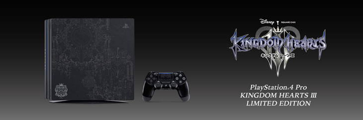 PlayStation(R)4 Pro KINGDOM HEARTS III LIMITED EDITION 一瞬で販売終了!