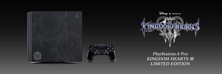 PlayStation(R)4 Pro KINGDOM HEARTS III LIMITED EDITION 一瞬で販売終了!