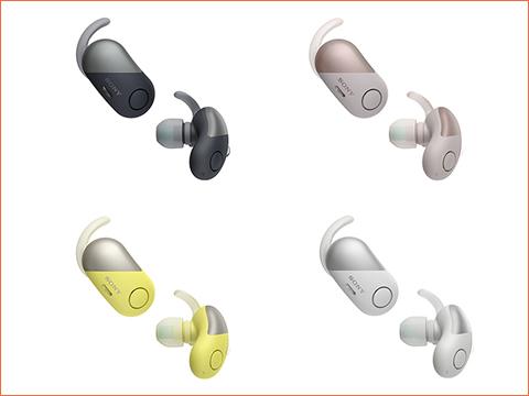 ワイヤレスノイズキャンセリングヘッドホン WF-SP700N