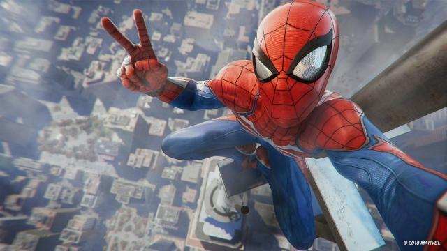 ムービーがそのままゲームになったような『Marvel's Spider-Man』
