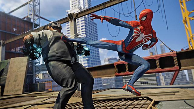 爽快なアクションも特徴の1つ『Marvel's Spider-Man』