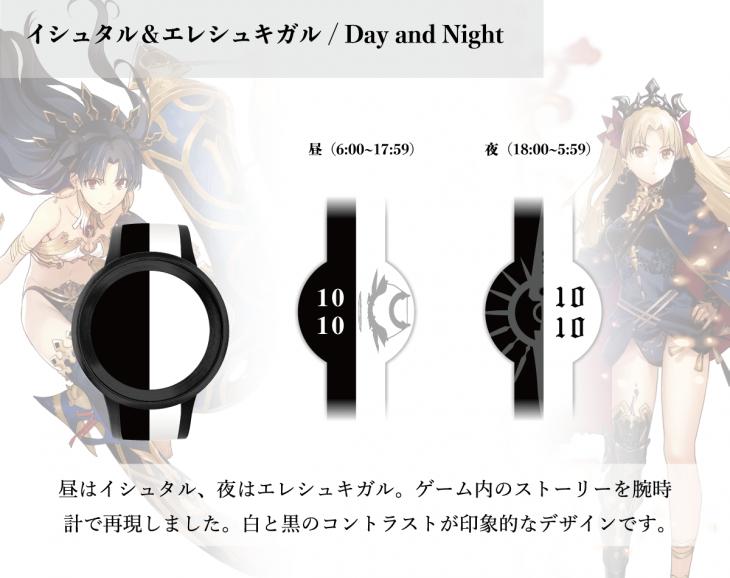 デザイン:イシュタル&エレシュキガル/Day and Night