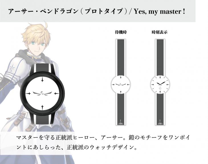 デザイン:アーサー・ペンドラゴン(プロトタイプ)/Yes,my master!