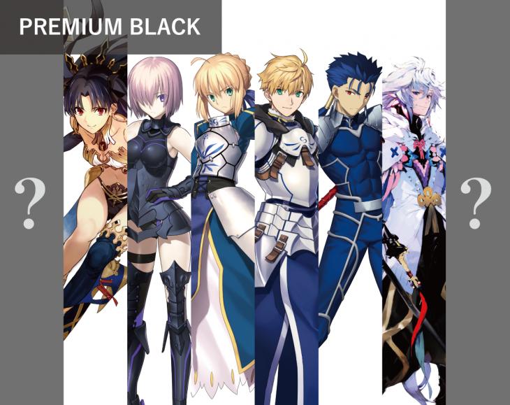 PREMIUM BLACK:FGOパターン数10