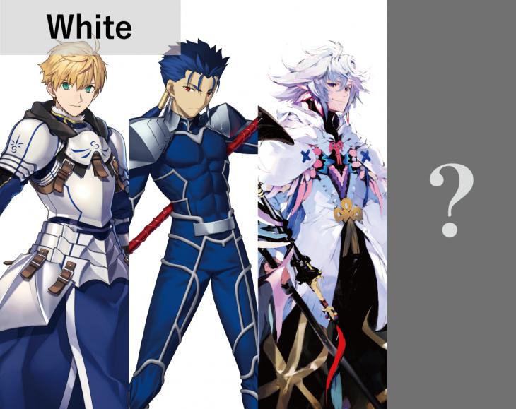 White:FGOパターン数5