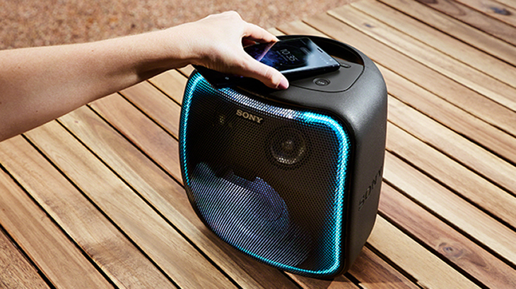 NFCに対応Bluetoothでワイヤレス音楽再生が可能