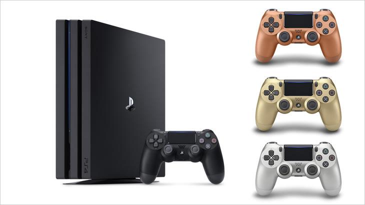 11月21日(水)に「PS4 Pro HDD2TBモデル」&コントローラー新色「カッパー」が発売
