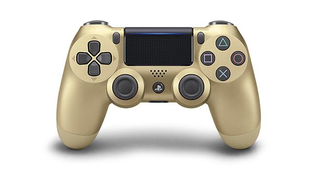 PS4コントローラー再販「ゴールド」