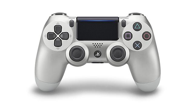 PS4コントローラー再販「シルバー」