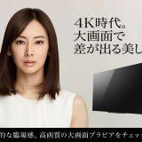 8K液晶テレビ Z9H ブラビア 2020年3月7日発売予定
