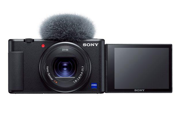 Vlog(ブイログ)撮影向けデジタルカメラ『VLOGCAM™ ZV-1』