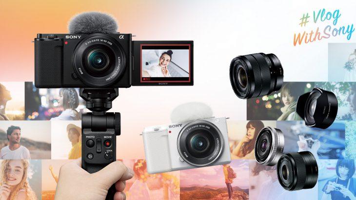 写真も、動画も、Vlogも。デジタルカメラVLOGCAM